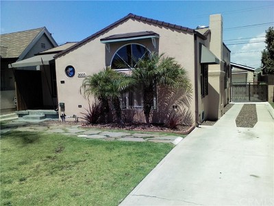 Los Angeles Single Family Home For Sale: 2005 W 68th Street