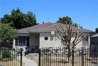 Compton Single Family Home For Sale: 14720 S White Avenue