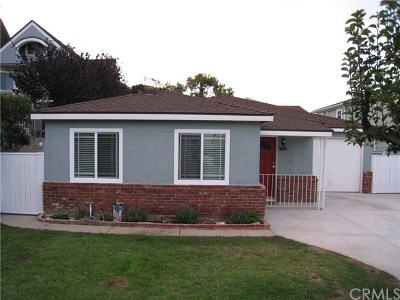 Manhattan Beach CA Single Family Home For Sale: $1,950,000