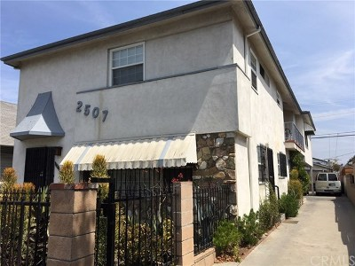 Los Angeles Multi Family Home For Sale: 2507 Rodeo Road