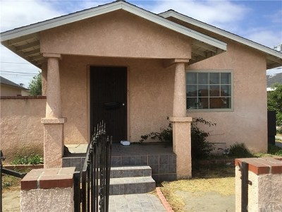 Los Angeles Single Family Home For Sale: 1143 W 98th Street
