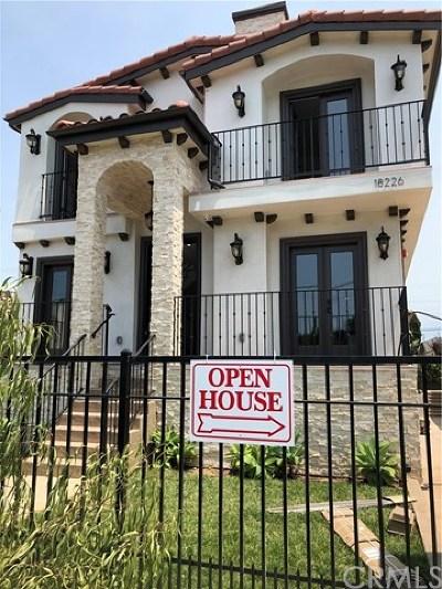 Redondo Beach Condo/Townhouse For Sale: 18228 Grevillea