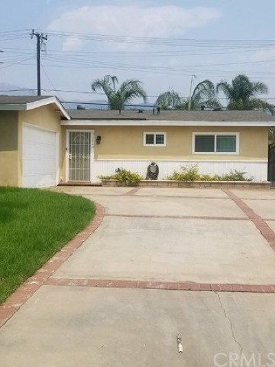 Rancho Cucamonga Single Family Home For Sale: 13042 Vine Street