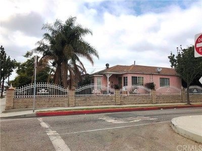 Hawthorne Single Family Home For Sale: 4703 W 118th Street