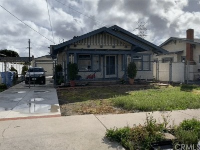 Gardena Single Family Home For Sale: 526 W 168th Street