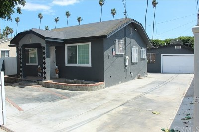 Inglewood Single Family Home For Sale: 422 E 98th Street