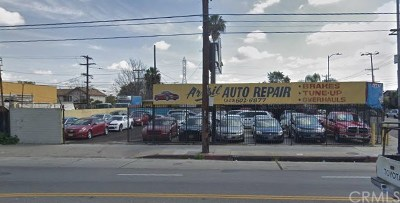Los Angeles Commercial For Sale: 10726 Avalon Boulevard