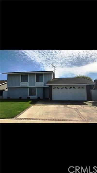 Huntington Beach Single Family Home For Sale: 6452 Shields Drive