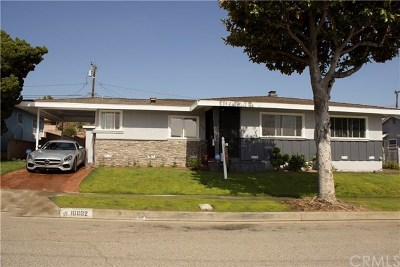 Inglewood Single Family Home For Sale: 10602 S 3rd Avenue