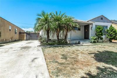 Single Family Home For Sale: 15537 Lemoli Avenue