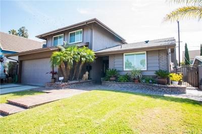 Carson Single Family Home Active Under Contract: 19206 Broadacres Avenue