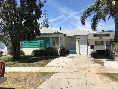 Compton Single Family Home For Sale: 1307 W Tichenor Street
