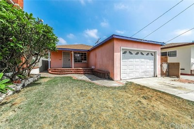 Hawthorne Single Family Home For Sale: 4153 W 138th Street