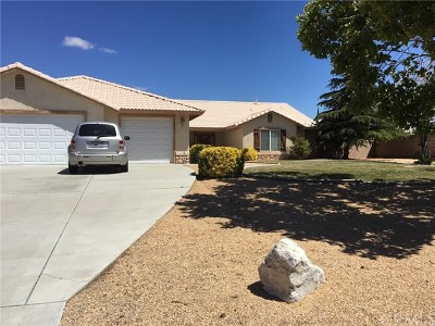 Apple Valley Single Family Home For Sale: 20292 Majestic Drive