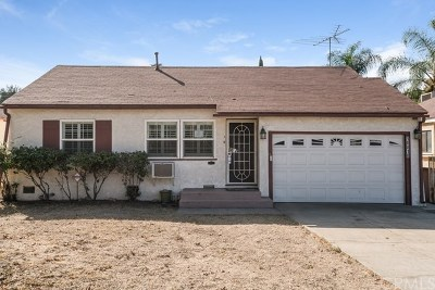 Whittier Single Family Home For Sale: 10818 Orange Drive