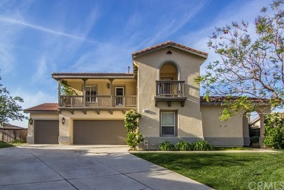 Moreno Valley Single Family Home Active Under Contract: 23463 Lawless Road