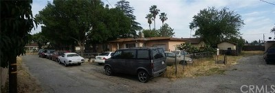 Fontana Multi Family Home For Sale: 7636 Oleander Avenue