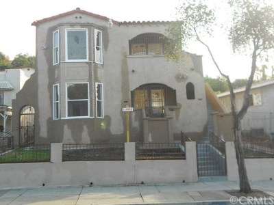 Los Angeles Multi Family Home Active Under Contract: 3334 City Terrace Drive
