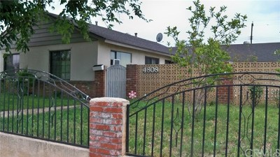 Covina Single Family Home For Sale: 4808 N Hollenbeck Avenue