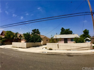 Anaheim Multi Family Home For Sale: 10831 Berry Avenue