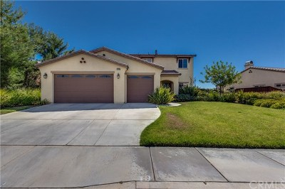 Beaumont Single Family Home For Sale: 37890 Divot Drive