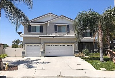 Moreno Valley Single Family Home Active Under Contract: 25299 Mackenzie Court