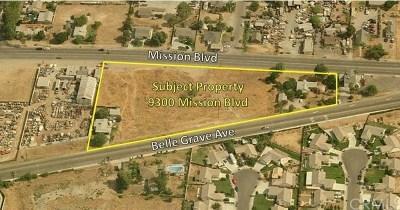 Jurupa Single Family Home For Sale: 9300 Mission Boulevard