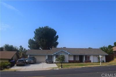 Jurupa Single Family Home For Sale: 5331 Camino Real