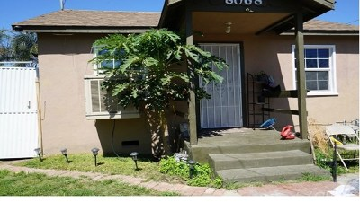 Fontana Single Family Home Active Under Contract: 8068 Grace Avenue