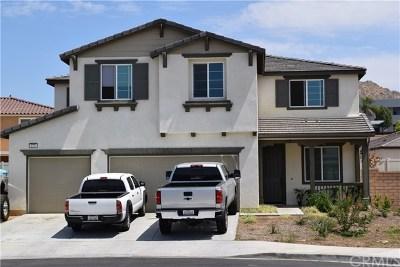Perris Single Family Home For Sale: 870 Santona Court