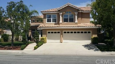 Lake Elsinore Single Family Home For Sale: 27 Corte Madera