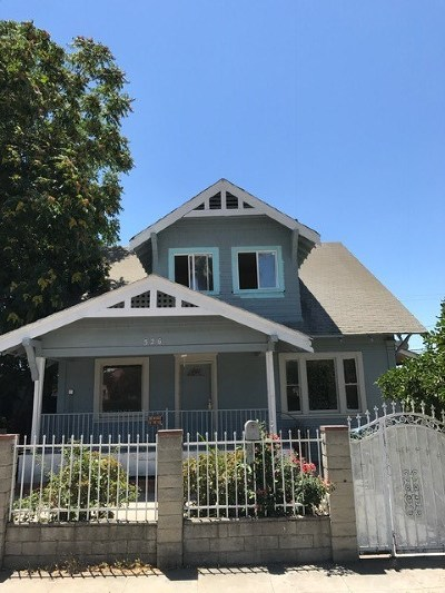 Pomona Single Family Home For Sale: 526 W Center Street