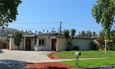 Riverside Single Family Home For Sale: 7446 Santa Rosa Way
