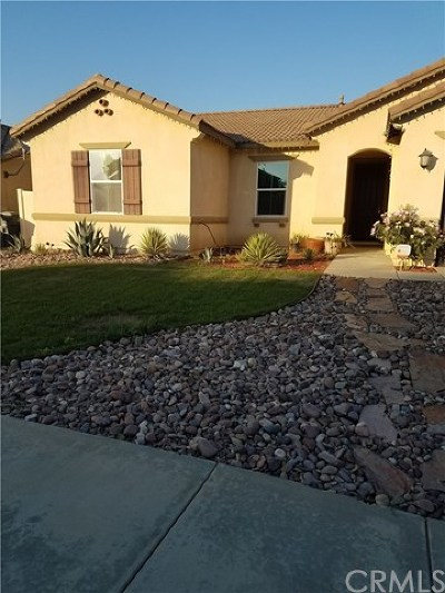 Perris Single Family Home For Sale: 3435 Bryce Canyon Way