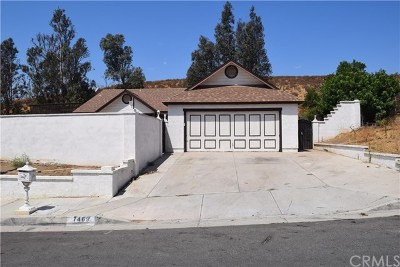 Jurupa Single Family Home For Sale: 7469 Lakeside Drive