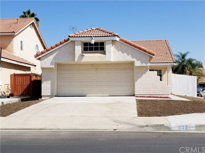Perris Single Family Home For Sale: 332 Treasure Street