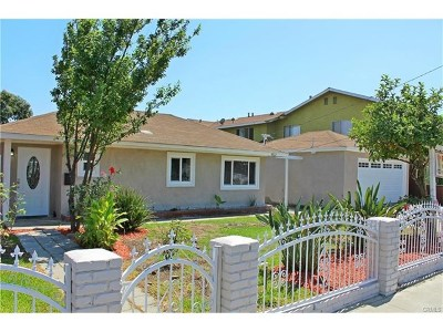 Downey CA Single Family Home For Sale: $509,990