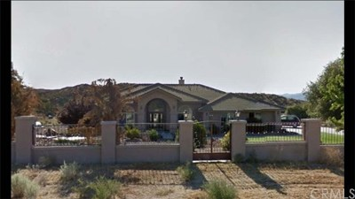 Hesperia Single Family Home Active Under Contract: 4203 Summit Valley Road