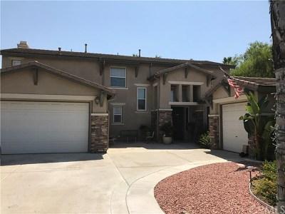 Riverside Single Family Home For Sale: 1033 Rancho Valencia Drive