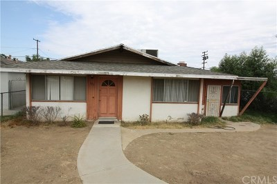 Perris Single Family Home Active Under Contract: 322 W 3rd Street
