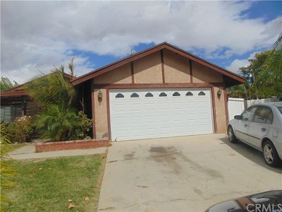 Moreno Valley Single Family Home For Sale: 14524 Justin Place