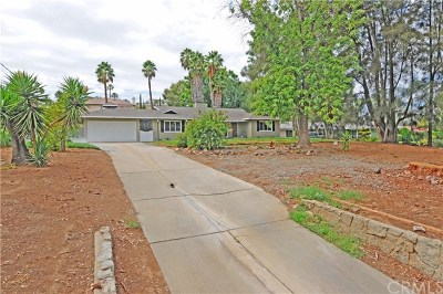 Riverside CA Single Family Home For Sale: $465,000