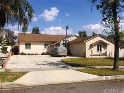 Upland Single Family Home For Sale: 624 Birch Avenue