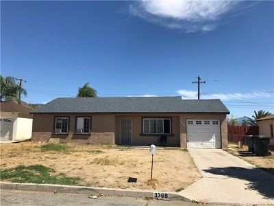 Single Family Home For Sale: 3369 Garden Drive