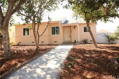 Pomona Single Family Home Active Under Contract: 324 Albert Avenue