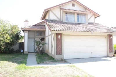 Moreno Valley Single Family Home For Sale: 24449 Liolios