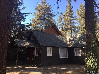 Wrightwood Single Family Home For Sale: 1765 Twin Lakes Road