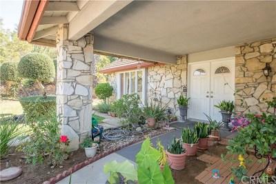 Diamond Bar Single Family Home For Sale: 1084 Overlook Ridge Road