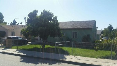 Pomona Single Family Home For Sale: 707 S Myrtle Avenue