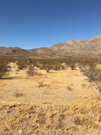 San Bernardino County Residential Lots & Land For Sale: Lucerne Valley Cutoff